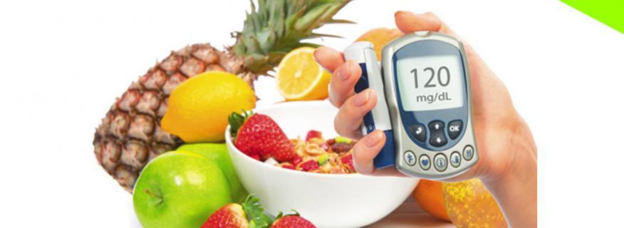 recomendación nutricional para diabetes